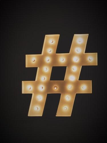 para qué sirve un hashtag