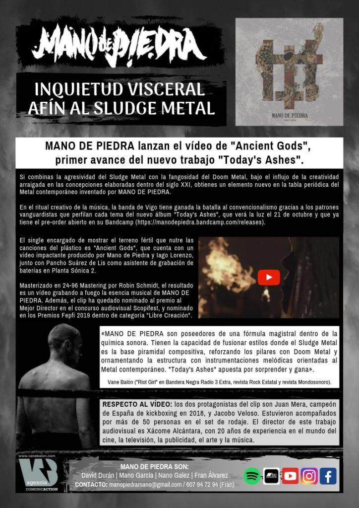 MANO DE PIEDRA