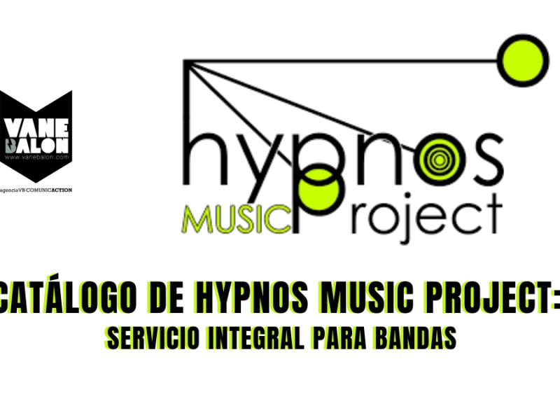 Hypnos music project - Agencia VB comunicaction - Vane Balón - Social Media - Comunicacion Digital
